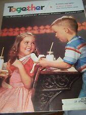 Vintage TOGETHER For Methodist Church Christian Families Magazine 1957 September
