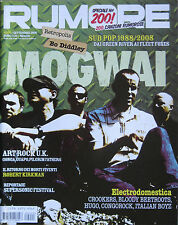 RUMORE 200 2008 Mogwai Bo Diddley Green River Fleet Foxes Bloody Beetroots Gonga