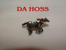 DA HOSS BREEDERS CUP HAND PAINTED HORSE RACING JOCKEY SILKS PIN