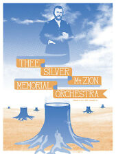 Thee Silver Mt. Zion Memorial Orchestra February 2012 Limited Edition Gig Poster