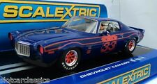 SCALEXTRIC 1970 CHEVROLET CAMARO #33   USA EXCLUSIVE   1/32  SLOT CAR C3065