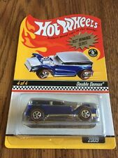 Hot Wheels Red Line Club Rewards Series Blue Double Demon