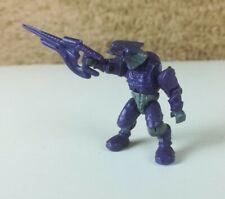"Halo Mega Bloks Covenat Elite Combat (Purple) 2"" Figure w/ Carbine"