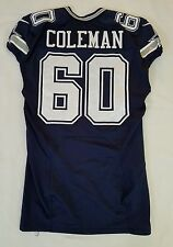 #60 Davon Coleman Game Issued/Player Worn of Dallas Cowboys