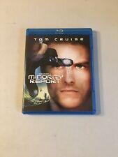 Minority Report (Blu-ray Disc, 2010, 2-Disc Set) Tom Cruise Sci-Fi