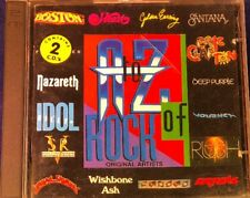 Various Artists: A To Z Of Rock 2xCD Album in VG Condition