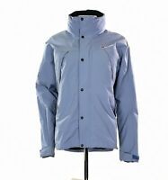 Women's Berghaus Gore-Tex Rain Jacket With Hood In Lilac Size UK 12