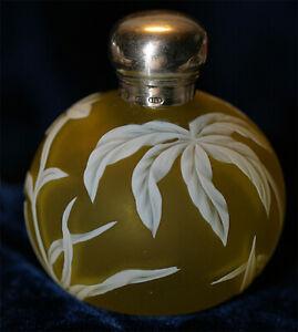 Small Webb English Cameo Art Glass Perfume Bottle ***Nice Please **LOOK**