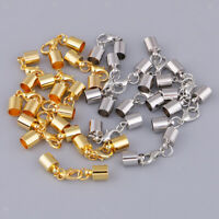 10Pc Copper Screw Clasps Crod End for Jewelry Making Necklaces and Bracelets