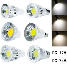 12V 24V E27 E14 B22 GU10 GU5.3 MR16 Dimmable LED Spot Lights 6W 9W 12W Bulb Lamp