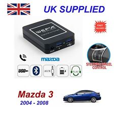 For Mazda 3 Music Streaming Bluetooth Telephone Charger SD AUX CD Digital Module