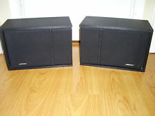 BOSE 201 SERIES III DIRECT REFLECTING STEREO SPEAKERS