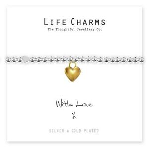 Life Charms With Love bracelet
