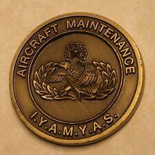 Aircraft Maintenance Badge IYAMYAS Air Force Challenge Coin