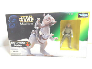1997 Kenner Star Wars POTF2 Luke Skywalker & Taun Taun ~ MIB