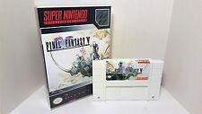Final Fantasy V 5 - English SNES Translation NTSC - FF White Cartridge RPG