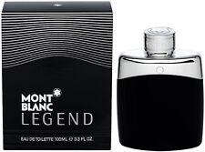 Mont Blanc Legend For Men 3.3 oz Eau de Toilette Spray New In Box Sealed