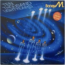Boney M. - 10.000 Lightyears LP + Poster  (Hansa International 206 200) 1984