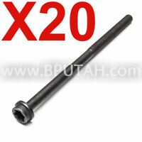 Cylinder Head Bolts x 16 Genuine LR026143 for LAND ROVER RANGE ROVER LR4 Sport