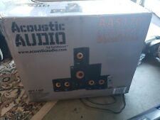 Acoustic Audio Home Theater 5.1 Bluetooth Speaker System READ THE DESCRIPTION