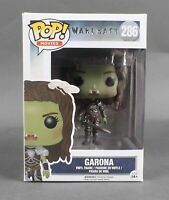 Funko POP Movies War Craft #286 Garona Vinyl Figure 1053V