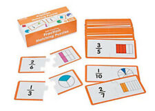 Fraction Matching Puzzles:  Classroom Resource