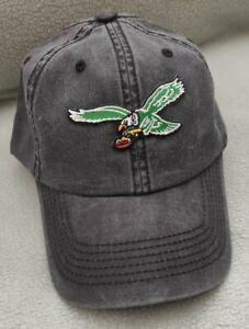Philadelphia Eagles Throwback hat black pigmented buckle back  ball cap