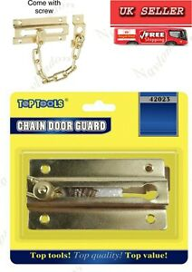 Strong Security Brass Chain+Door Guard Lock Catch Top Value Top Quality