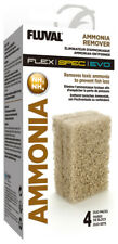Fluval Ammonia Remover Block for Fluval Flex, Spec, Evo  4 x 2 pack