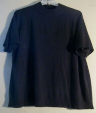 Drapers & Damon 3X Sweater Black Short Sleeves       SOFT AS CASHMERE!!     [39]