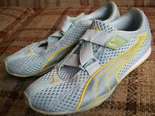 Puma Womens Size 7.5 (EUR 38) Light Blue Mesh Yellow 181147 13