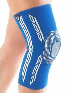 Airflow Plus Stabilized Knee Support with Silicone Patella Cushion - Large