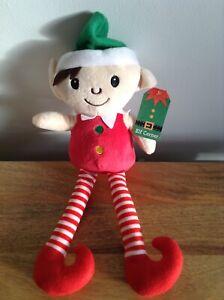 Elf Corner - Cuddly Soft Elf - 14'' - Brand New