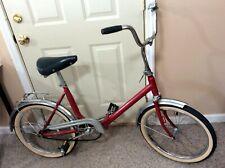 Vintage German Traveling Camping Folding Bike Bicycle Lizenz Pletscher ESGE