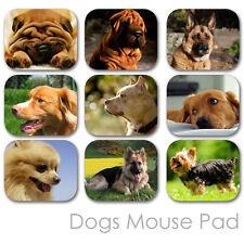DOG PUPPY CUSTOM MOUSE PAD FRIEND PHOTO FAMILY MOUSEPAD  (DM-02)