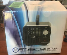 Enerzen O777 Commercial Ozone Generator 6,000mg Sterilizer O3 Air Purifier Black