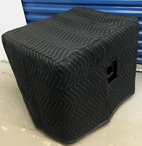 JBL EON 518S Padded Premium Black Speaker COVERS (2)  Qty of 1=1 Pair!