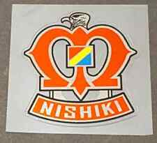 Nishiki Head Badge Decal (sku Nish711)