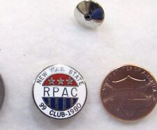 New York State RPAC 99 Club 1980 USA Lapel Pin Pinback Tie Tack