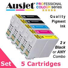 Ausjet 5-Star 73N T073 Value Pack 5-Set non-OEM Ink cartridge for Epson Stylus