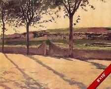 Spanish Pared & Del Campo Pintura por Santiago Rusinol Arte Real