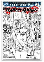 HARLEY QUINN #1 - AOD Count-I-Con Ashley Witter Sketch Variant - NM - DC Comics!
