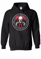 Stephen Kings IT The Clown Men Women Unisex Top Hoodie Sweatshirt 1936E