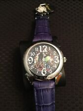 Ed Hardy Men's Watch Revolution Panther Stainless Steel Watch EYE CATCHER!!