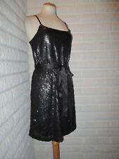 Pailletten Kleid Abendkleid Pailetten matt Gr M NEU Party Blogger festlich abend