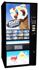 FastCorp F631 Ice Cream Frozen Food Vending Machine working order free ship