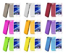 4 x Schutzhülle iPhone SE / 5 / 5S Hardcase Hartplastik Cover Schale Bumper Etui