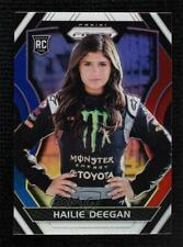 2018 Panini Prizm Red White & Blue Hailie Deegan #30 Rookie