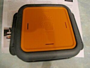 Morphy Richards MICO Toastie Maker Microwavable Cookware Black/Orange