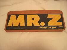OLD WOOD-WOODEN SIGN PLAQUE MR. Z GRAPES PRODUCE FRUIT SIDE PANEL